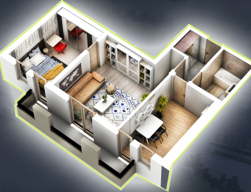 Apartament 2 camere 51.1 mp + terasa 5.8 mp – Family 2 – Vila4-Ap11
