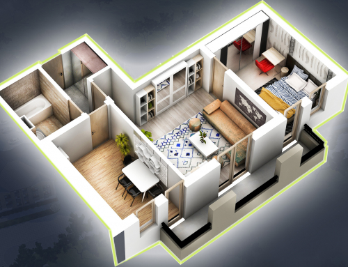 Apartament 2 camere 51.1 mp + terasa 5.8 mp – Family 2 – Vila3-Ap17